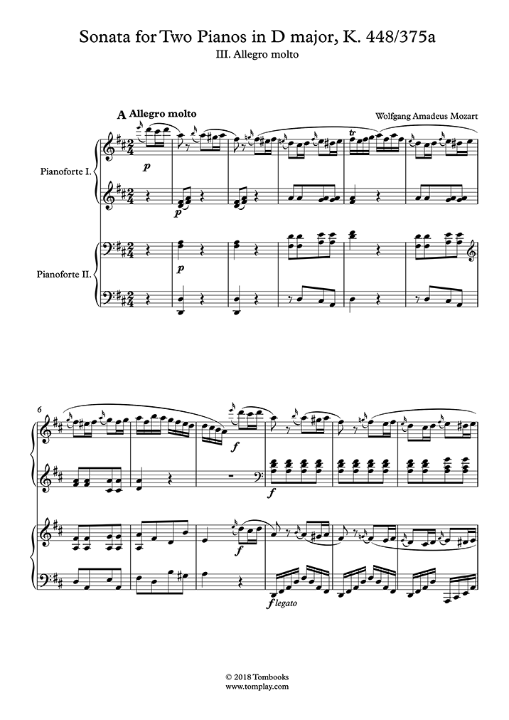 ピアノ ソナタ 難易 度 モーツァルト